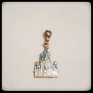 Disney Cinderella Castle Zipper Pull